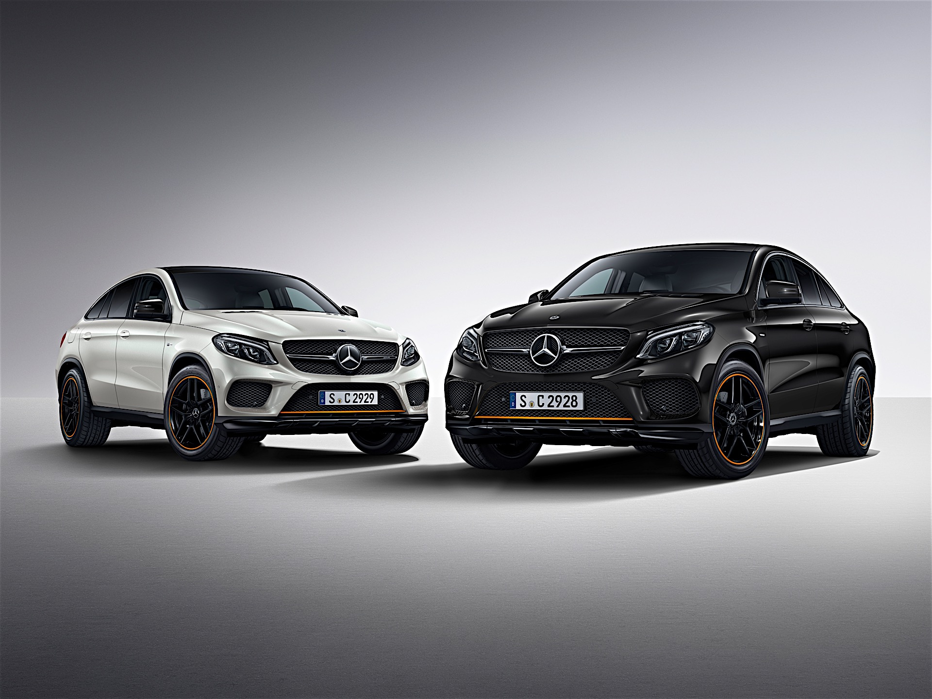 mercedes benz gle coupe gets orangeart special edition here s how