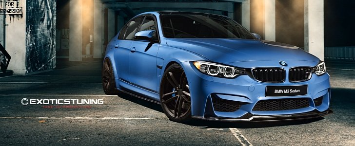 Bmw F80 M3 Gets A Fresh Look With Exotics Tuning S Kit Autoevolution