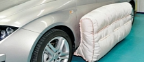 External Airbags for Side Crashes Currently Under Development