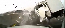 Extreme Truck-Car Crash on Highway [Video]