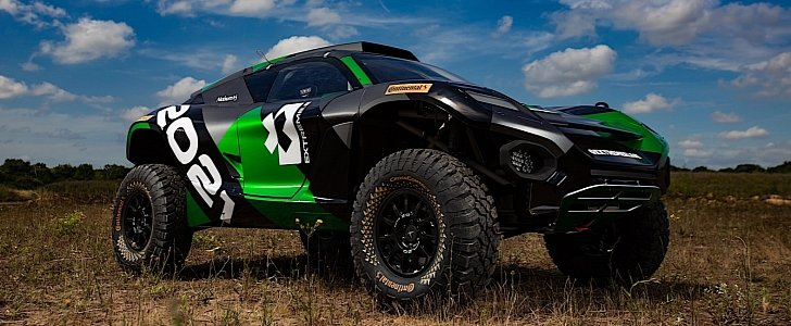 extreme e electric suv off-road racing series comes in 2021  to be based at sea