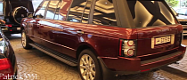 Extreme Extended Wheelbase Version of Old Range Rover in Dubai [Video]