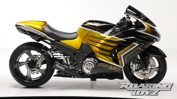 Extreme Kawasaki ZX-14R Art [Photo Gallery]