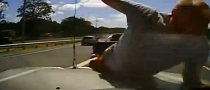 Extreme Road Rage In Australia - Must Watch! [Video]