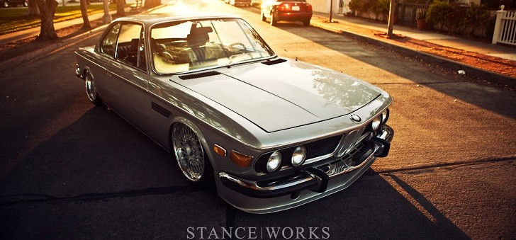 Eye Candy: 1971 BMW E9 Stanced to Perfection [Photo Gallery][Video]