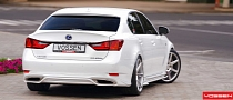 Eye Candy: Lexus GS 450h on Vossens [Photo Gallery]