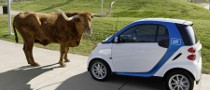 F-Cell World Drive Meets car2go