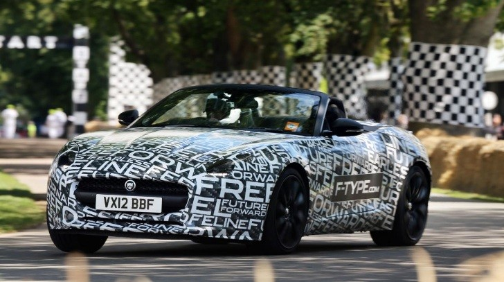 F-Type Inches Closer to Production via Goodwood