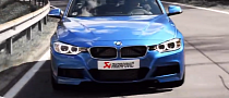 F30 BMW 335i Gets Akrapovic Exhaust [Video]