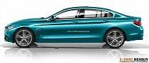 F36 BMW 4 Series Gran Coupe Rendering
