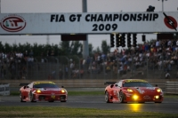 Bruni and Vilander at Fia GT Adria