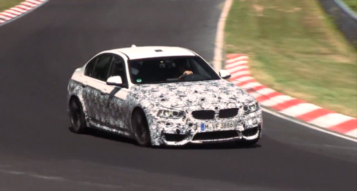 F80 BMW M3 Is Furiously Tested on the Nurburgring [Video]