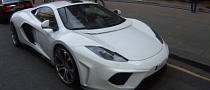 FAB Design McLaren MP4-12C Treso Spotted in London [Video]