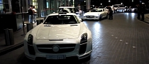 FAB Design Mercedes SLS AMG at White Car Party [Video]