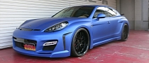 FAB Design Panamera in Matte Blue by Office-K [Photo Gallery]