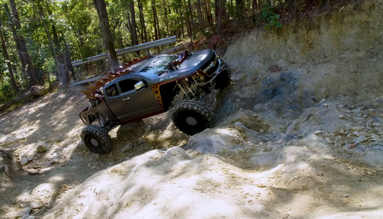 Fab Fours Kymera Chevy Colorado Off Road Truck Packs Twin Turbo Cummins Diesel Autoevolution