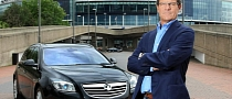 Fabio Capello Drives the Vauxhall Insignia