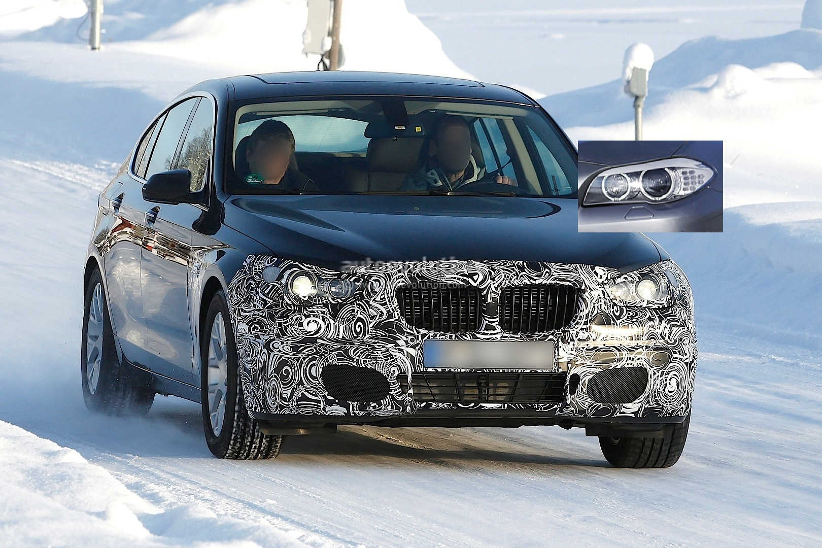 Facelift BMW 5 Series to be Launched Along with PlugIn Hybrid