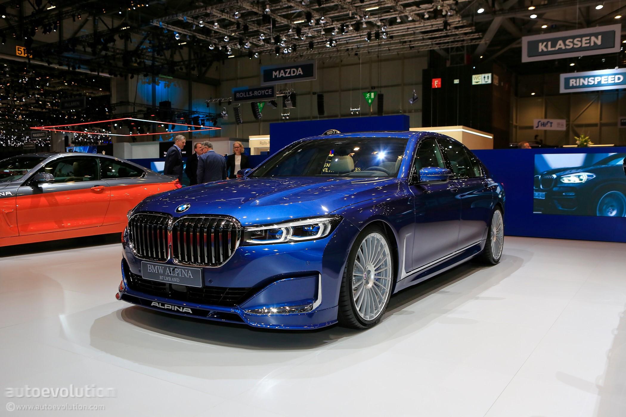 Facelifted Alpina B7 Looks Blue In Geneva Autoevolution