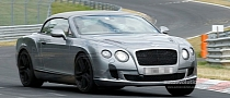 Facelifted Bentley Continental GTC Expected in Frankfurt