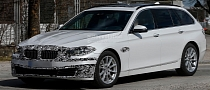 Facelifted BMW 5 Series Touring Spied Testing