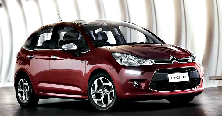 Facelifted Citroen C3 Officially Revealed in Brazil