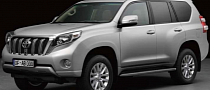 Facelifted Toyota Land Cruiser Prado, Lexus GX Leaked