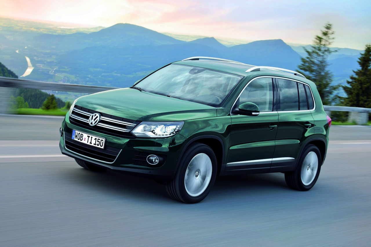 Facelifted Volkswagen Tiguan Brings Bluemotion New Safety