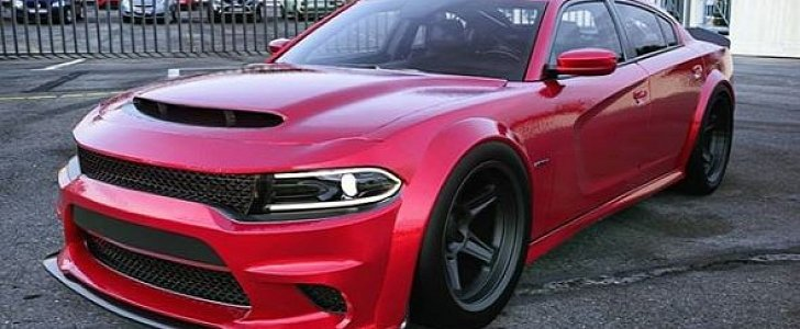 Fake Dodge Charger Demon Emerges, Shows The Design Is Ready - autoevolution