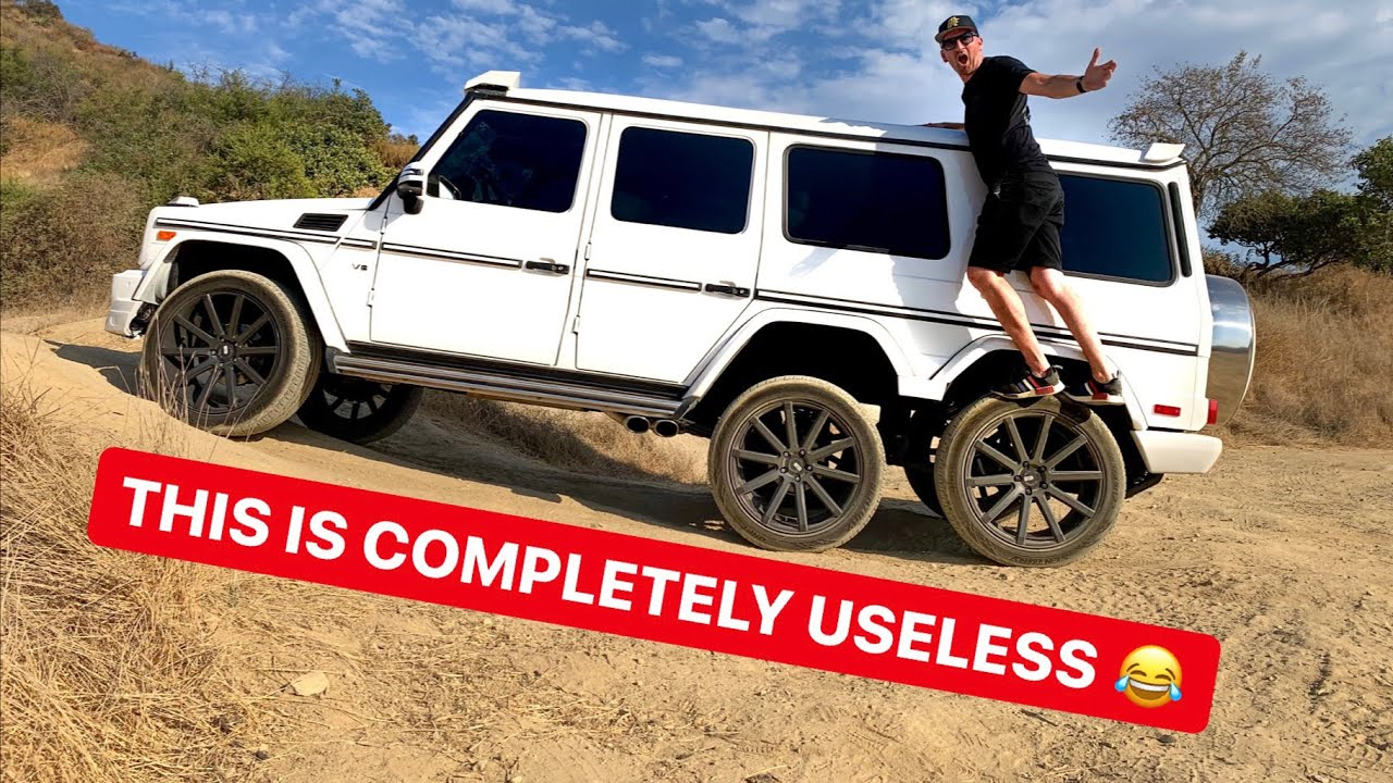 Fake Mercedes Amg G63 6x6 Wagon Is No Good Gets Stuck Offroad Autoevolution