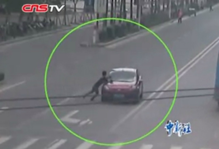 Fake Pedestrian Car Crashes Are Sprouting Around The World