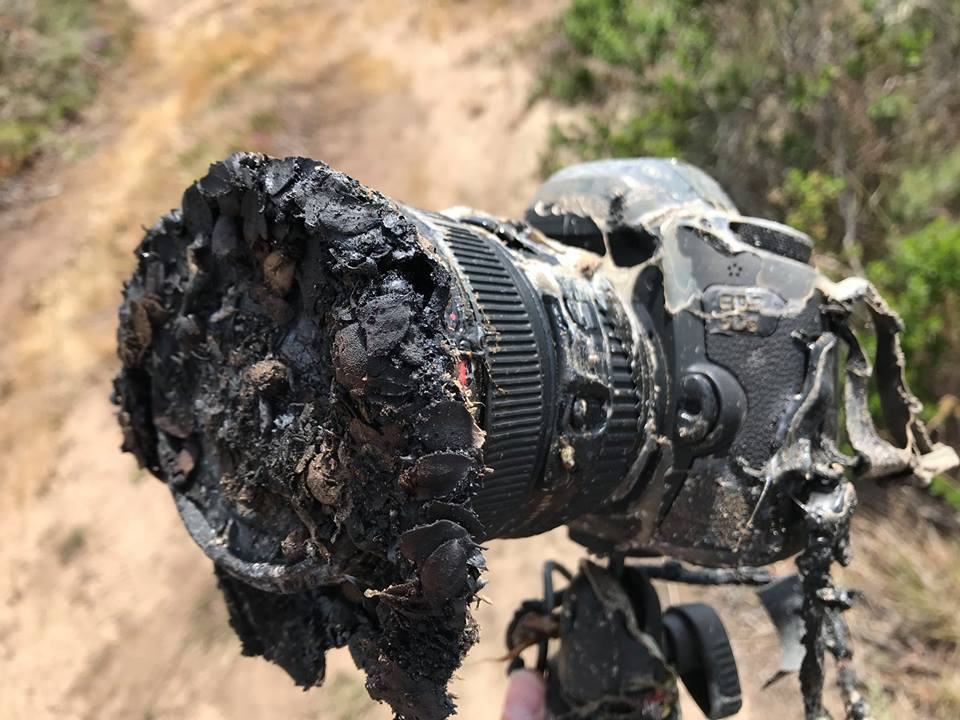 SpaceX Falcon 9 Launch Melted This NASA Photographer's Camera