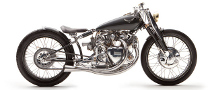 Falcon Black Shadow Motorcycle Project Presented