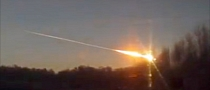 Falling Meteorite Captured on Dash Cameras in Russia [Video]