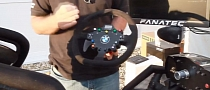 Fanatec M3 GT2 Clubsport Steering Wheel Mixes Gaming and Real Driving [Video]