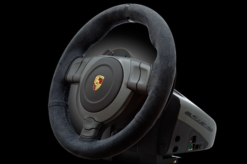 Fanatec Presents Porsche 911 Gt2 Gaming Wheel Autoevolution