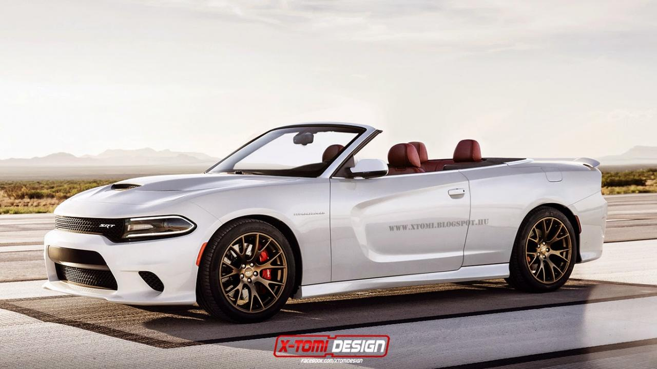 Fancy A Drop Top Dodge Charger Srt Hellcat Autoevolution