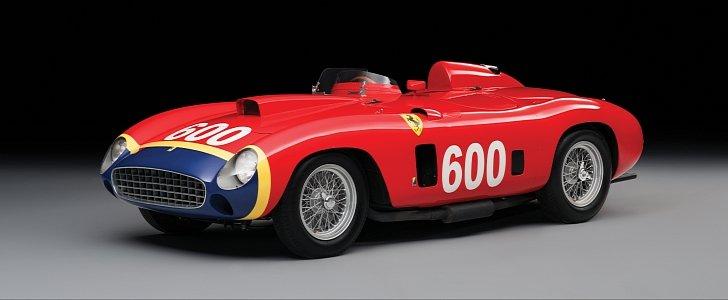 Fangio's 1956 Ferrari Gets Sold for $28 Million