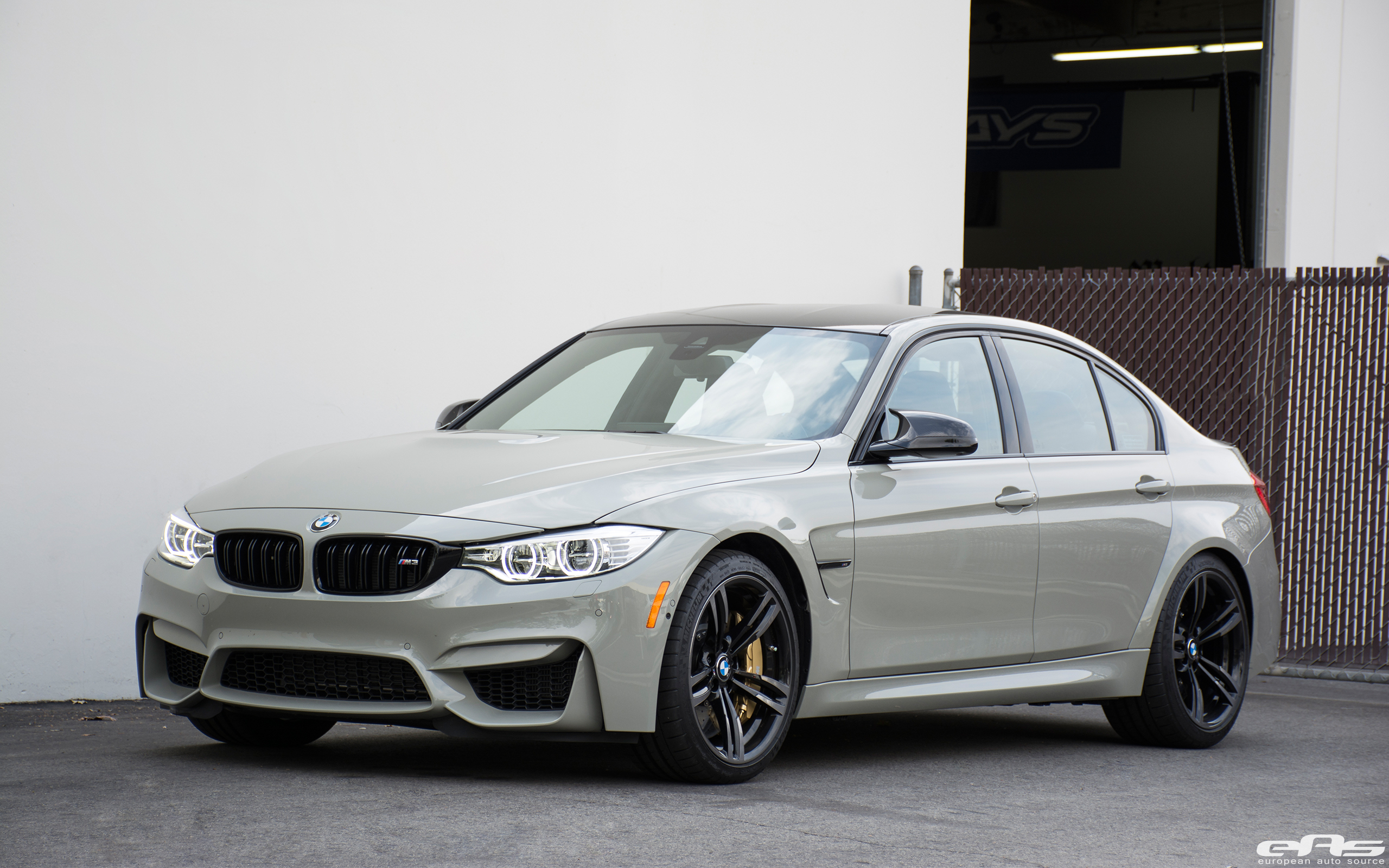 Fashion Grey BMW F80 M3 Has a Fjord Blue Interior and It's ...