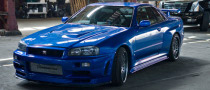 Fast and Furious 4 Nissan Skyline Stolen