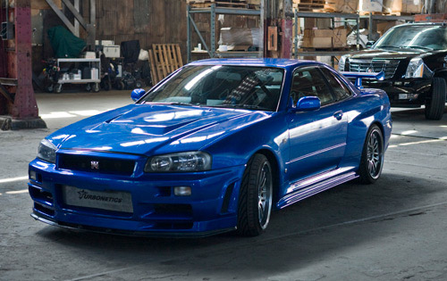 Fast and furious 4 nissan skyline stolen autoevolution