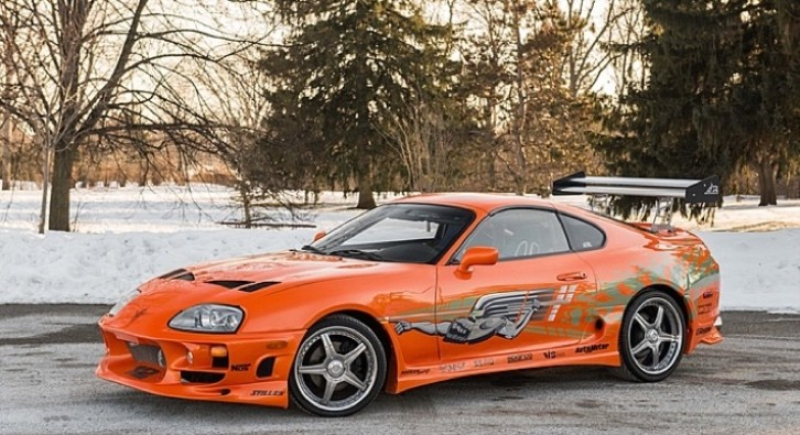fast and furious toyota supra stunt car will go on auction photo gallery autoevolution. Black Bedroom Furniture Sets. Home Design Ideas
