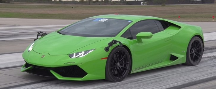 fastest lamborghini huracan in the world has 2 300 hp pulls 238 6 mph half mile pass. Black Bedroom Furniture Sets. Home Design Ideas
