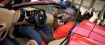 Fastest Man of the Planet Dashes in Ferrari for Dream Drive in Monaco
