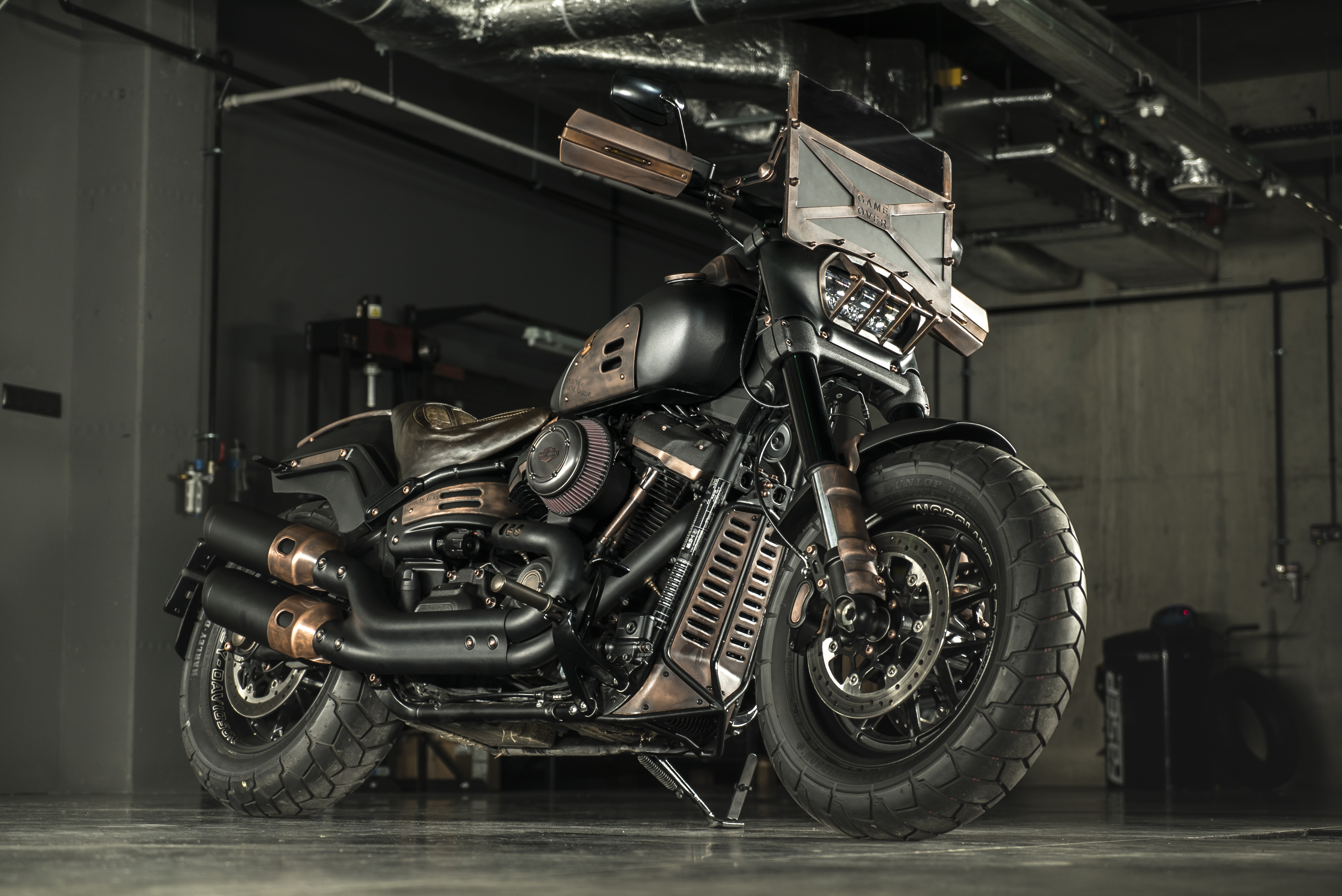 Tesla Model S Custom >> Fat Max Is GOC's Newest Post Apocalyptic Custom Harley-Davidson - autoevolution