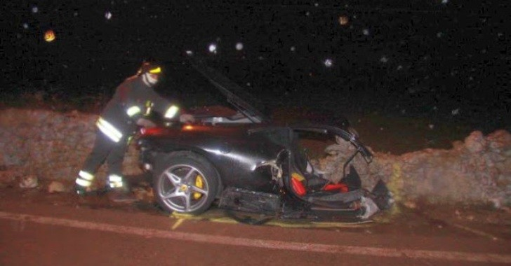 Fatal Ferrari 458 Italia Crash in Italy
