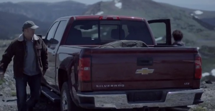 Father and Son Camping Trip: Chevrolet Silverado Ad [Video]