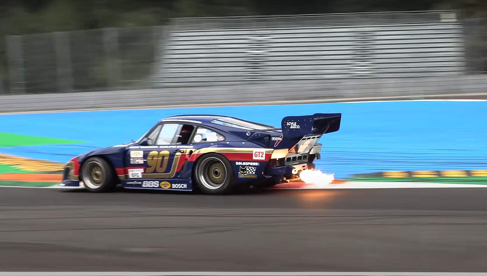 Feast Your Eyes on the Almighty Porsche 935 Kremer Spitting Flames at Monza