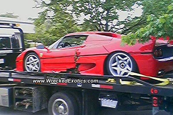 The vehicle was stolen in 2003 from a Ferrari dealership in Rosemont