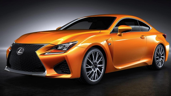 Feeling Creative Name The Lexus Rc F New Orange Color Autoevolution
